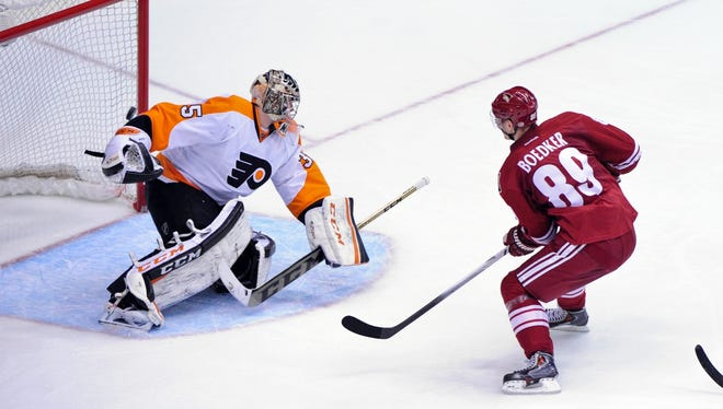 Steve Mason is likely to make his return to the lineup after missing time with back spasms.