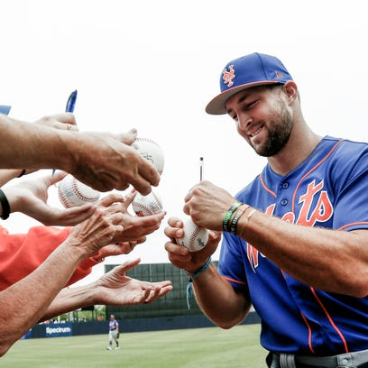 New York Mets officially assign Tim Tebow to Class AA Binghamton Rumble Ponies