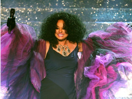 Honoree Diana Ross performs onstage during the 2017