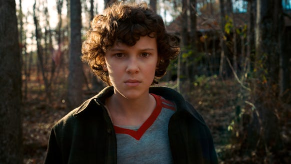 Millie Bobby Brown in 'Stranger Things'
