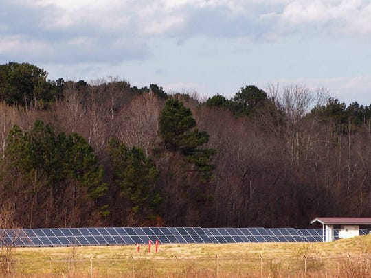 Anheuser-Busch installed a solar array at its Cartersville, Georgia, brewery. Across the company's facilities, solar panels provide 2.7 megawatts of electricity.