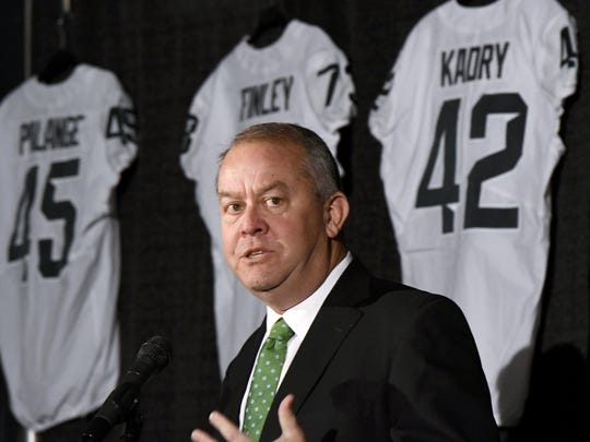 Mark Hollis stepped down as Michigan State athletic director in 2018.