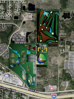 A $85 million, 144-acre athletic and residential complex is proposed to replace the Pewaukee Golf Club.