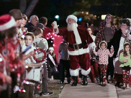 Christmas parades kick off the holiday season this weekend on the Treasure Coast.