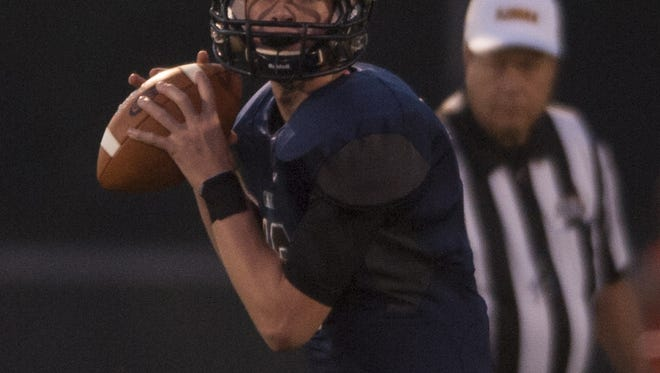 A sophomore quarterback, Devin Leary has thrown for 683 yards and eight TDs in his last two games.