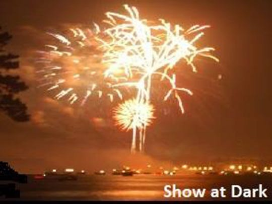 The Lake Jordan Home Owners and Boat Owners (HOBO) Association's annual 4th of July Fireworks Show will be at dark on Tuesday.