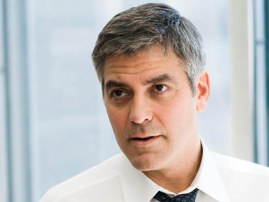 "George Clooney stars in ""Michael Clayton"" (2007)."