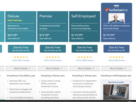 TurboTax now offers live help from tax experts.