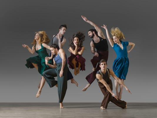 Sarah Braverman, Christina Ilisije, Ian Spring, Elena d'Amario, Geena Pacareu, Omar Roman De Jesus, Eoghan Dillon, Jason_MacDonald / Parsons Dance