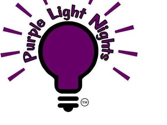 Purple Light Nights