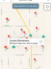 The CA Schools mobile app, created by California Department of Education, allows users to access information about the state's more than 10,000 schools.
