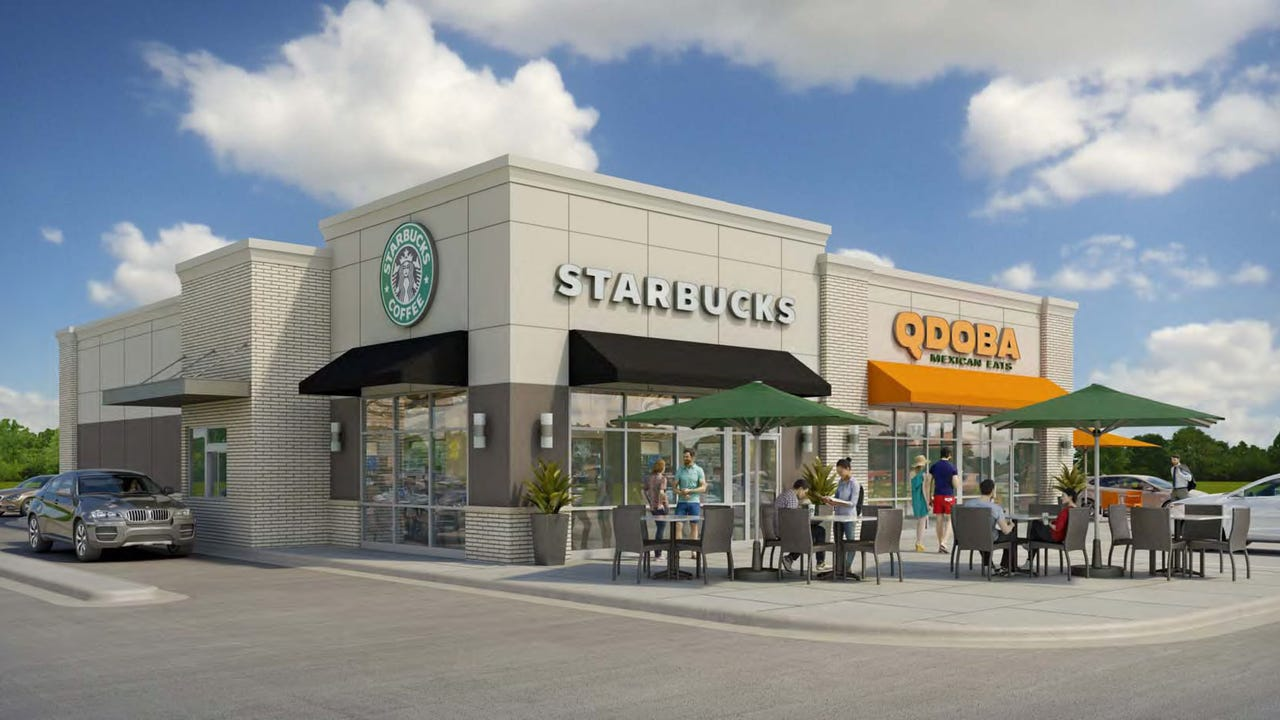 The village of Mukwonago is buzzing with excitement over thoughts of coffee beans and four cheese nachos. A Starbucks and Qdoba are planned for the Brooklife Church parking lot in the village.