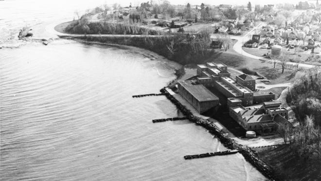 Aerial view of North Point.