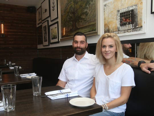 Matt and Christina Safarowic at The Whitlock in Katonah. The two are now taking over KR Cafe down the street.