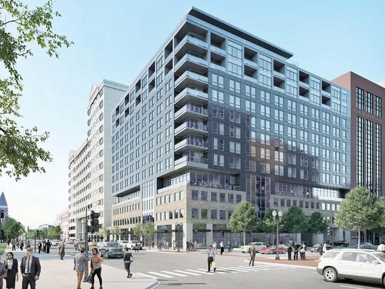 Boji Group LLC's proposal for City Hall.
