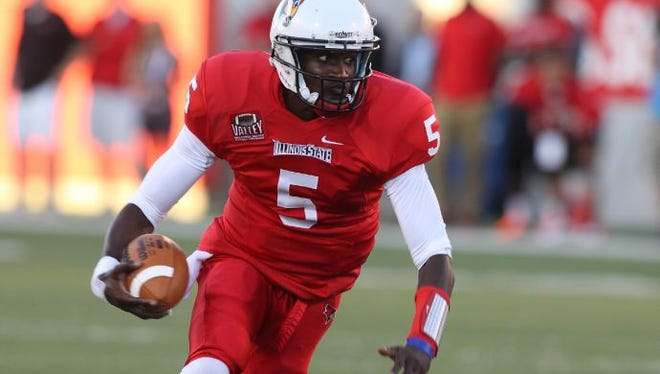 Illinois State quarterback Tre Roberson is a transfer from the Indiana.