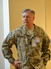 U.S. Sen. Lindsey Graham, a retired Air Force Reserve