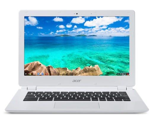 Acer's 11.6 inch Chromebook. Chrome OS has good security,