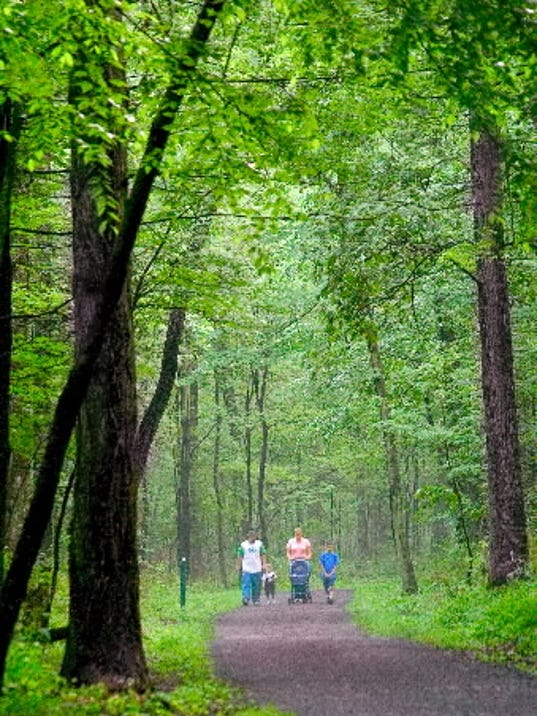 Rocky Ridge County Park will offer walking programs this summer. DAILY RECORD/SUNDAY NEWS - FILE