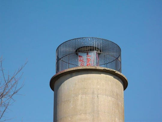 Cornwall police are searching for suspect or suspects who spray painted graffition the observation tower at Clarence Schock Memorial Park at Governor Dick along Pinch Road in West Cornwall Township,between Saturday, March 12,and Tuesday, March 15.Anyone having information about theidentity of the personresponsible is asked to contact Cornwall police at 717- 274-207