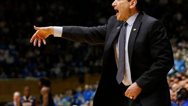 Duke head coach Mike Kryzewski won his 1,000th game on Sunday, but has two tough games this week.