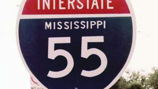 At least four 18-wheelers and two cars have had rocks dropped on them on Interstate 55