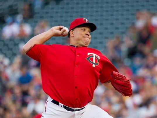 USP MLB: TEXAS RANGERS AT MINNESOTA TWINS S BBA MIN TEX USA MN