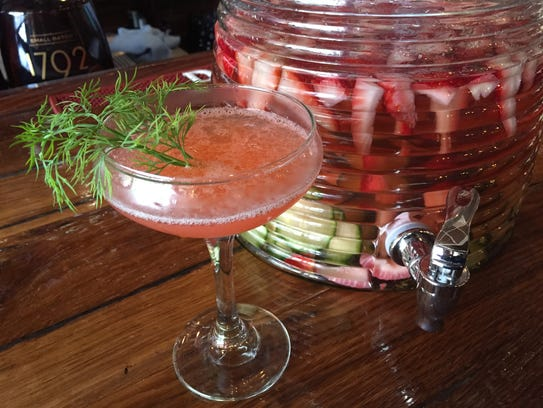 Yes, this is the prettiest drink ever, but don't be