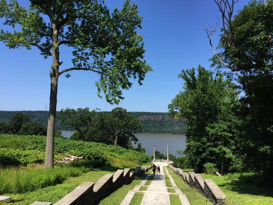 The gardens at Untermyer Park & Gardens in Yonkers