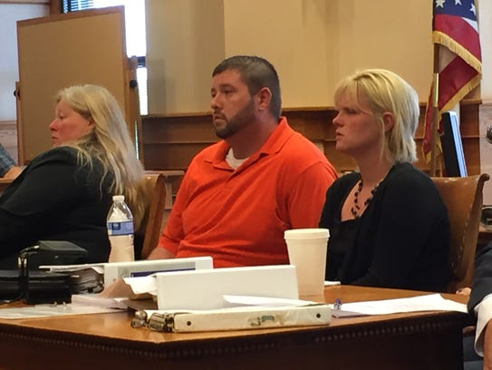 Beau Hutchinson and Kayla Henderson stand trial for