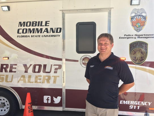 Dave Bujak, director of Emergency Management