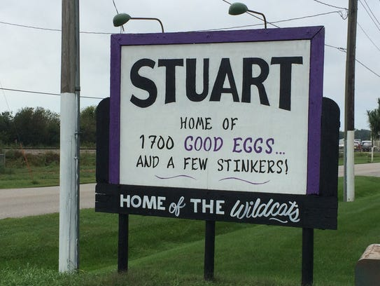 Welcome to Stuart, but watch out for some of the locals.