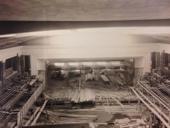 The auditorium of Union-Endicott High School under