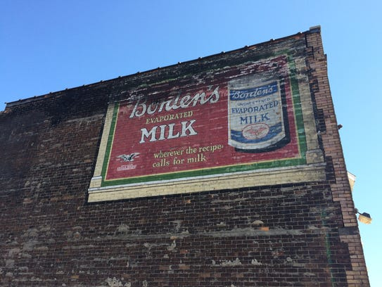 This Borden's Evaporated Milk advertisement is found