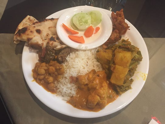 Tandoor Indian Restaurant offers a sampling of favorite