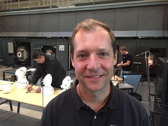 Eric Meek, Corning Museum of Glass