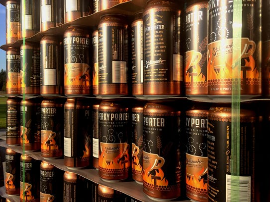 Perky Porter cans arrived at Stillmank Brewing in Green
