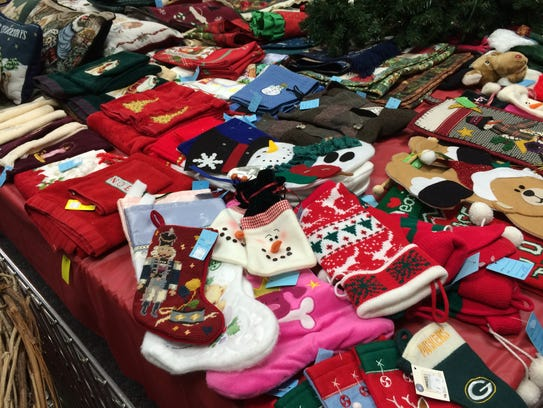 A variety of Christmas items will be available at the
