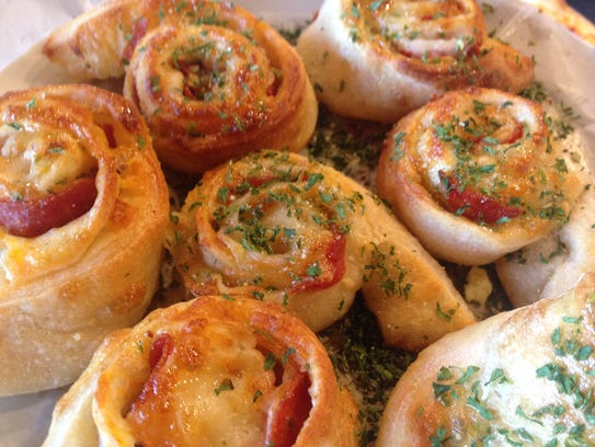 Pepperoni Swirl Rolls from Fine Folk Pizza