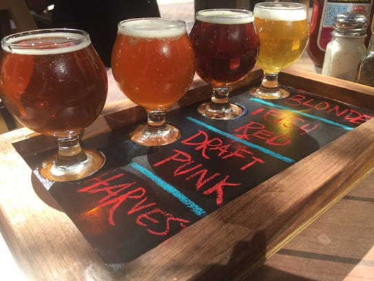 Pratt Street Ale House Harvest Ale is brewed with local