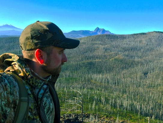 Dominic Aiello is seen on a 2015 high country mule