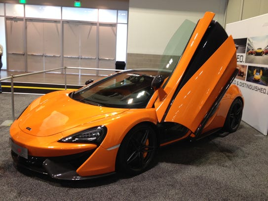 The McLaren 570S prototype was featured at a previous Nashville International Auto Show.