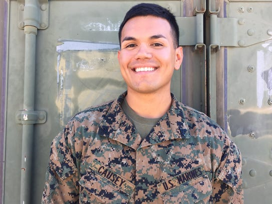 Marine Corps Cpl. Christopher Causey, 24, Tucson.