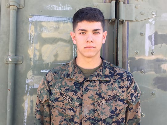 Marine Corps Cpl. Reed Weiler, 20, Issaquah, Wash.