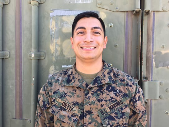 Marine Corps Cpl. Luis Ortiz, 25, South Sioux City,