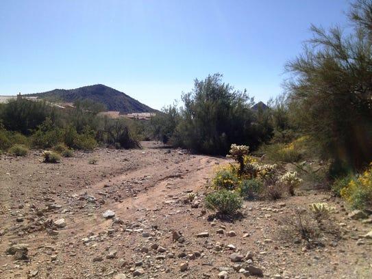 The Sunrise Trailhead in Scottsdale.
