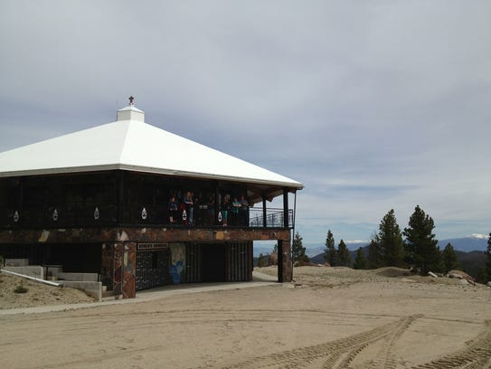 A mountain-top chapel near Our Lady of the Rockies