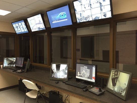A total of 72 security cameras can be monitored in