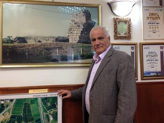 Faik Oudeh, mayor of Jaljulia, Israel.