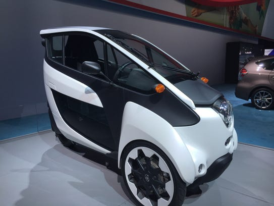 The one-person Toyota I-Road is among our Free Press